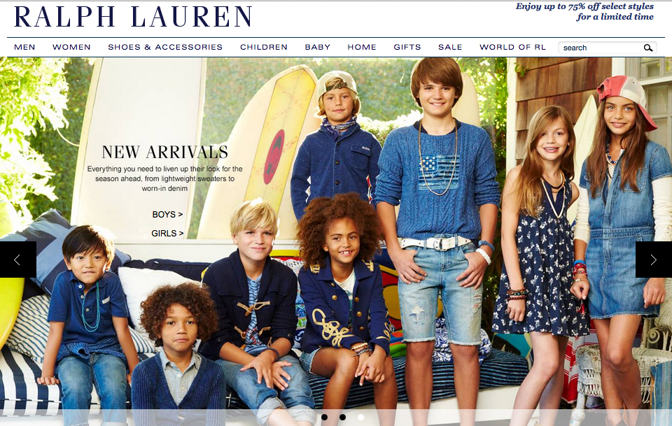 FUTURE FACES NYC RALPH LAUREN CAMPAINGN